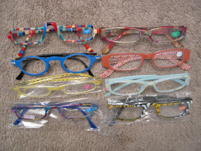 Peepers Fun Reading Glasses