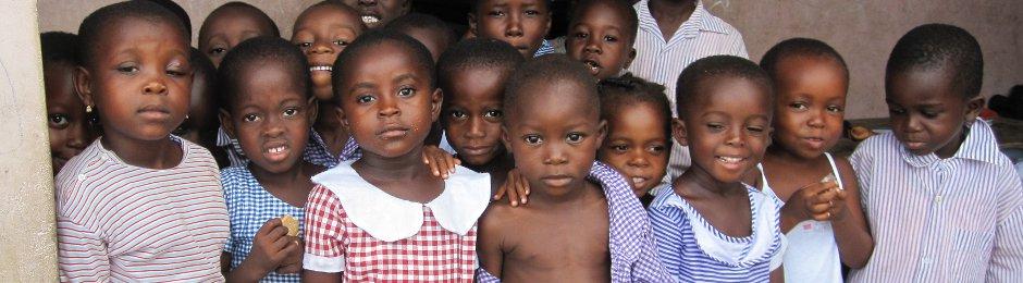 AIDS orphans in Ho, Ghana