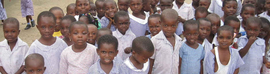 Some of the 180 orphans in Sokode-Gborgame, Ho, Ghana